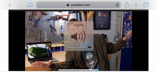 volume indicator large