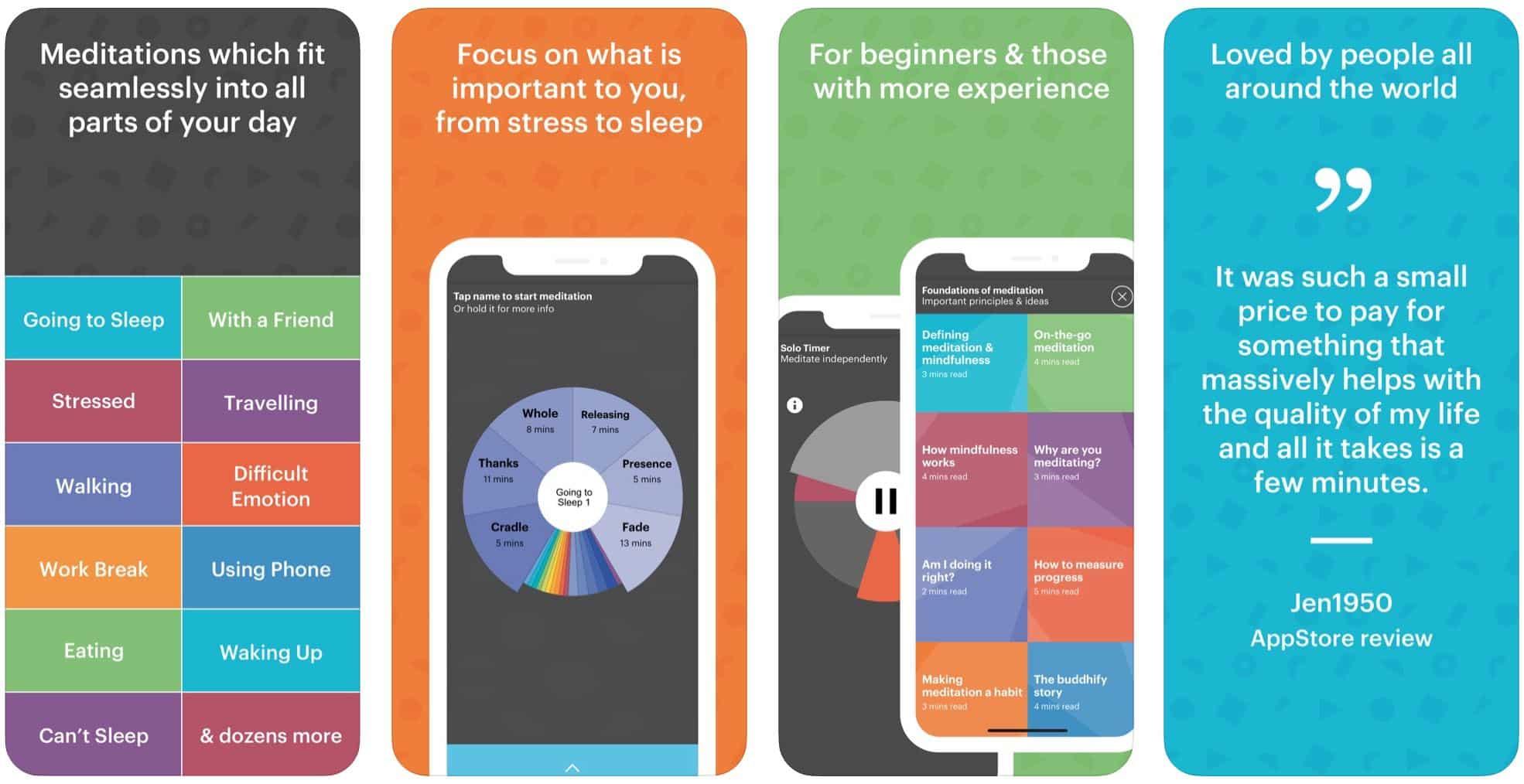 meditation app for iphone