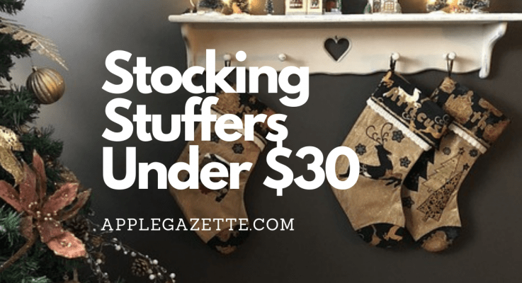Stocking Stuffers Under $30 for Apple Fans