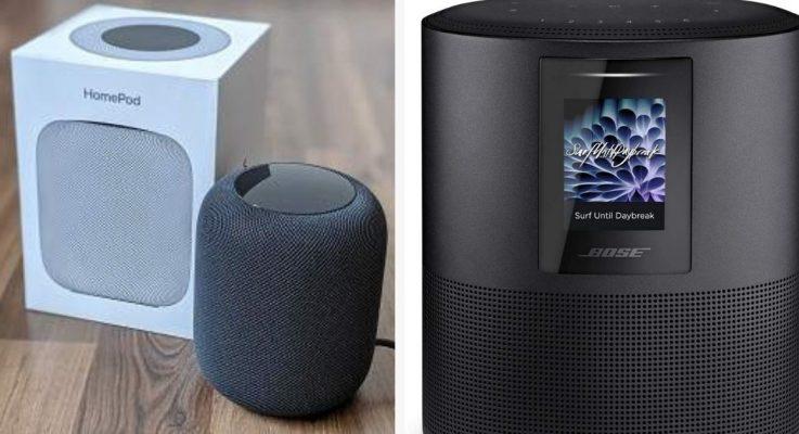A Quick Comparison: HomePod vs Bose