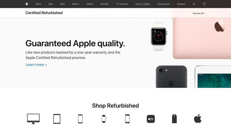 Where Do Apple Refurbished Products Come From?