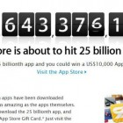 Apple Starts Contest for 25 Billionth App Download
