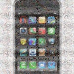 IMAGE: 10,000 icon iPhone Mosaic Image