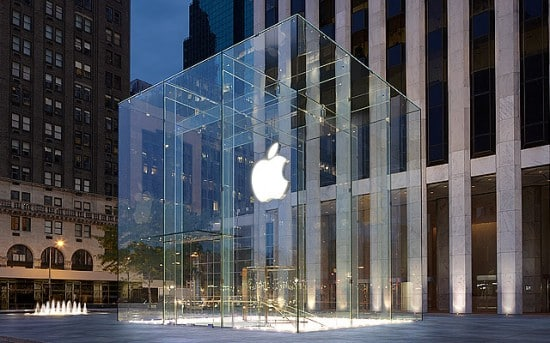 Apple Store: 5th Ave., New York