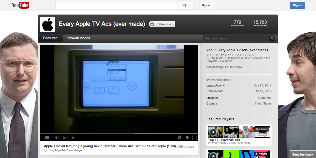 Every Apple TV Ad Ever Made