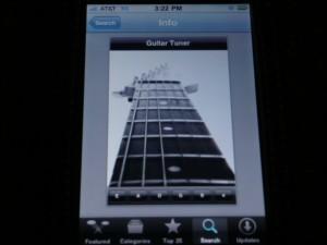 """Guitar Tuner"" App"