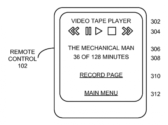 Illustration from Apple's latest patent