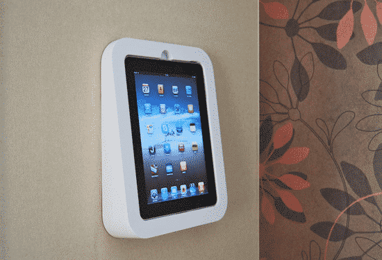 Yet another ipad wall mount apple gazette for Chargeur mural iphone