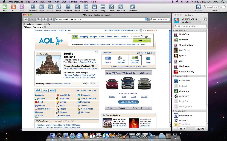 FRANCAIS 9.7 TÉLÉCHARGER DESKTOP AOL