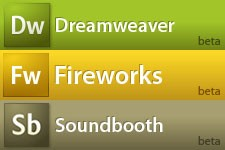 Dreamweaver, Fireworks and Soundbooth betas released