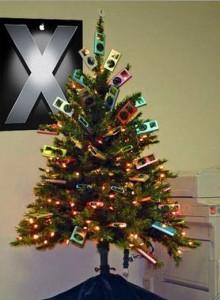 apple-christmas-trees-ipod-tree