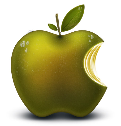 apple-logo-green-apple