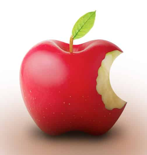 "I think this is the best of the ""real apple"" logos."