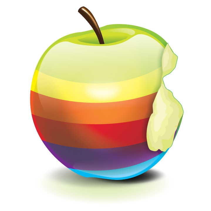 http://www.applegazette.com/wp-content/uploads/apple-logo-retro-stylized-3d.jpg