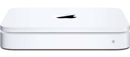 how to set up apple time capsule