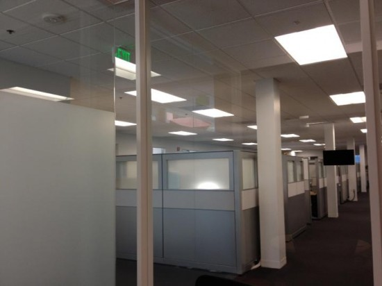 Cubicles inside Apple HQ