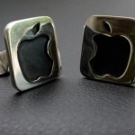 Apple Cufflinks - I can't decide if they're awesome...or really lame