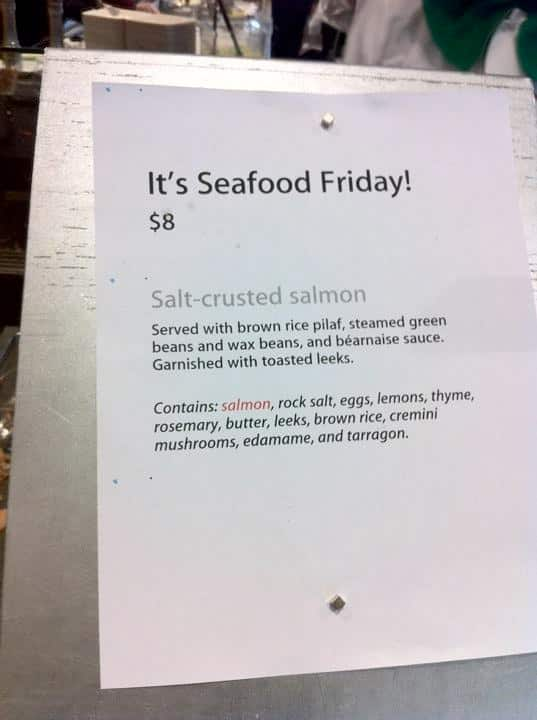 Seafood Friday