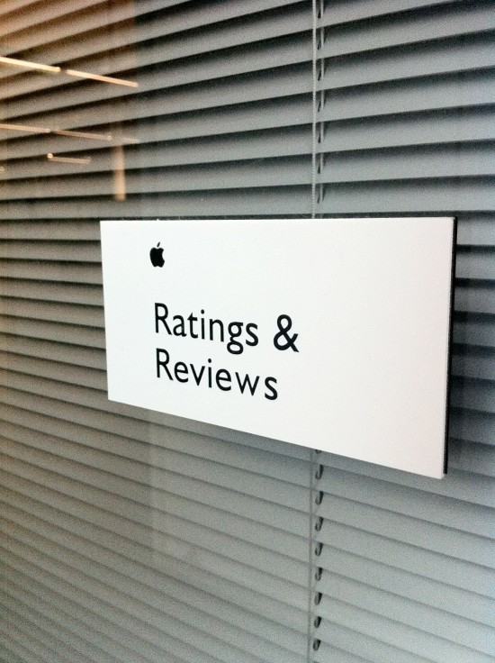 The Ratings & Reviews department