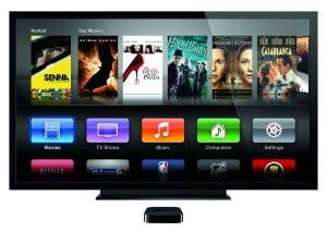 Apple TV's new user interface