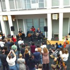 Apple HQ lunchtime concert