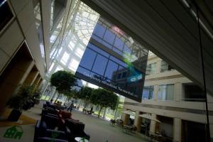 Apple HQ atrium