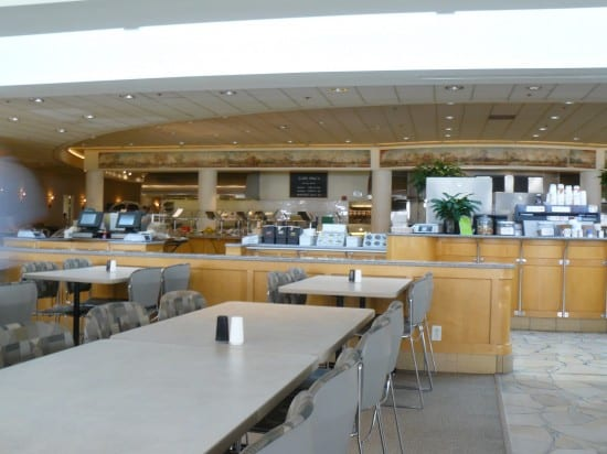 Cafe Macs, the campus cafeteria at Apple HQ