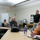 Apple HQ Executive Briefing Center: digital classroom