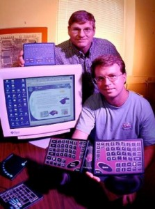 John Elias and John Westerman, founders of Fingerworks