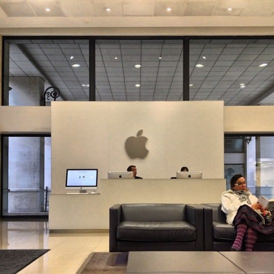 Apple France - Paris [Image credit]