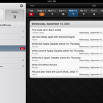 Apple Gazette Reviews: OmniFocus for iPad
