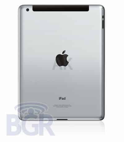 This Morning A Supposed Rendering Of The IPad 2 Was Obtained By Boy Genius Report Design Lines Up With Rumors That Next Generation Tablet Will