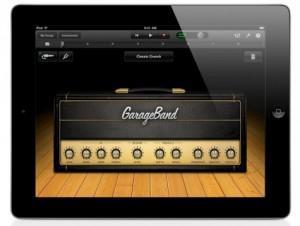 iPad GarageBand