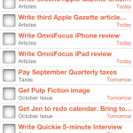 Apple Gazette Reviews: OmniFocus for iPhone