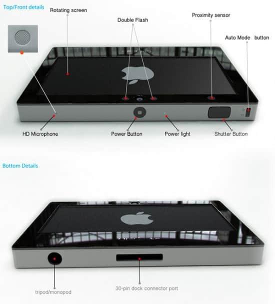 QuickTake camera concept