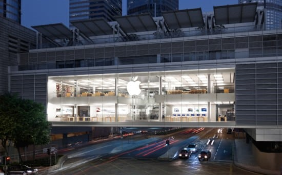 Apple Store: IFC Mall, Hong Kong
