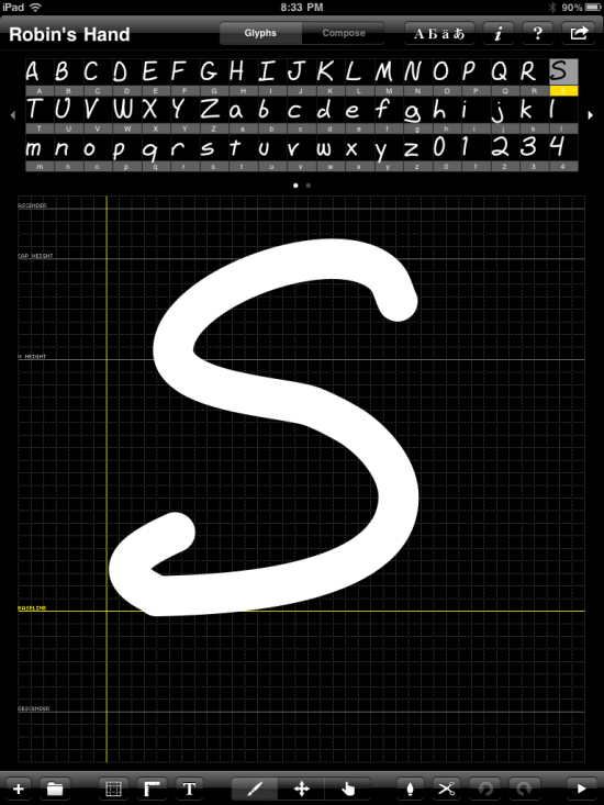 iFontMaker for iPad
