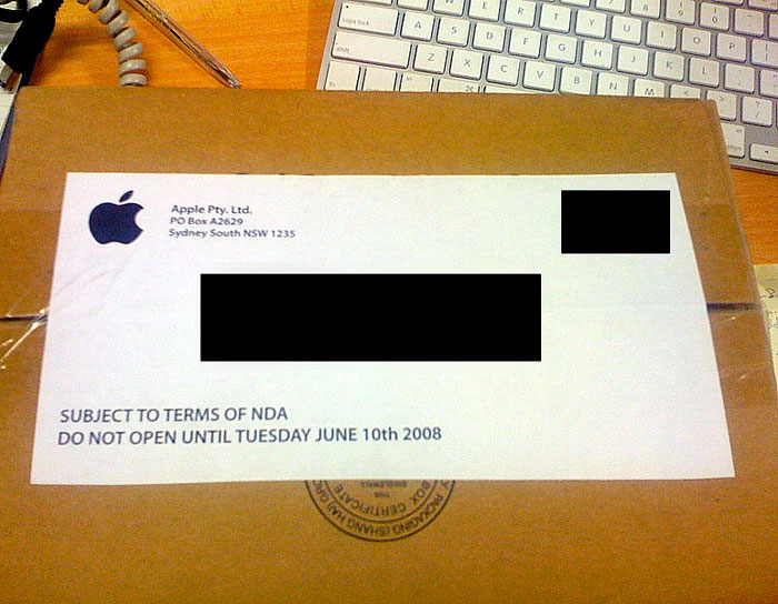 "Australian reseller receives mysterious ""DO NOT OPEN"" box from Apple"