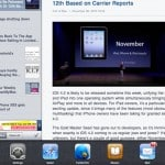 iPad iOS 4.2 Multitasking