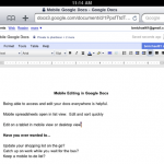 Google Docs Now iPad Friendly
