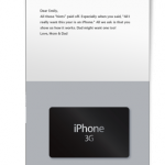 Give the gift of iPhone w/ the iPhone Gift Card