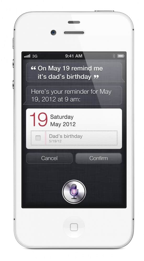 iPhone 4S: Siri
