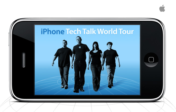 "Apple announces ""iPhone Tech Talk World Tour"""