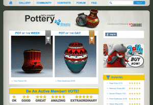 Let's Create Pottery: User Community