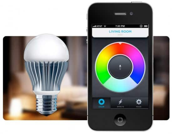 Control The Light Bulb Of The Future With Your Iphone