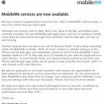 Apple issues MobileMe apology, adds 30 days to existing subscriptions