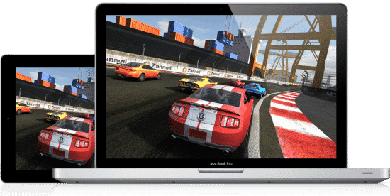 Multiplayer gaming across devices via Game Center in OS X Mountain Lion