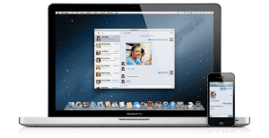 Messenger in OS X Mountain Lion