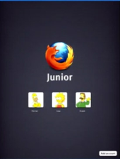 Mozilla Junior screenshot