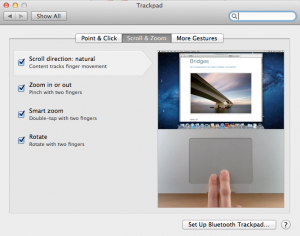 Trackpad Preferences